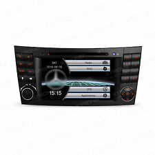 "Map + Auto Radio 7"" GPS DVD Stereo for Mercedes Benz E-Class W211 E300 E320 E500"