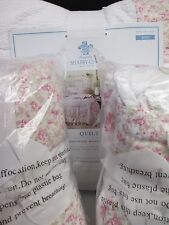 Rachel Ashwell SIMPLY SHABBY CHIC Patchwork Ruffle Floral Quilt & Shams - King