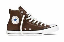 Mens/womens Converse Chuck Taylor All Star Hi Tops-Uk Size 7.5 - Chocolate.