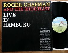 Roger Chapman and the Shortlist - Live in Hamburg - GER 1979 - Acrobat  TOP Mint