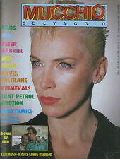 MUCCHIO 102 1986 Eurythmics Bob Seeger Fugs Primevals That Petrol Emotion Sting