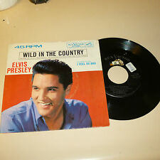 ELVIS PRESLEY 45RPM RECORD WITH PICTURE SLEEVE-RCA 47-7880-black w/dog on top
