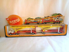 VINTAGE  1976 CORGI  MERCEDES BENZ TRANSPORTER # 2015 IN BOX