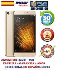 XIAOMI Mi5 32GB/3GB DORADO SNAPDRAGON 820 ROM INTERNACIONAL MIUI 8 ESPAÑOL.LIBRE