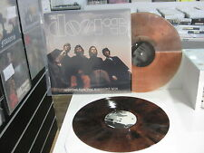 THE DOORS 2 LP  WAITING FOR THE MIDNIGHT SUN  BROWN VINYL