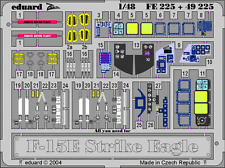EDUARD ZOOM FE225 Interior for Revell®/Monogram Kit F-15E in 1:48