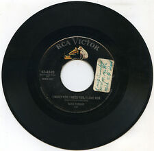 ELVIS PRESLEY I Want You I Need You I Love / My Baby Left Me US RCA 6540 45rpm