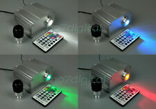 Professional Optical fiber light led ligh fibre optic light engine RF remote