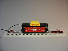 LIONEL FASTRACK DESK TOP DISPLAY o gauge train car powered light lamp NEW