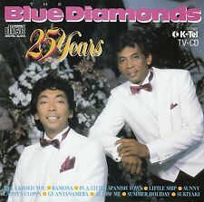 THE BLUE DIAMONDS : 25 YEARS / CD (K-TEL KTCD 224-2) - NEUWERTIG