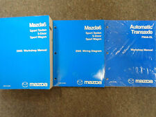 2005 Mazda6 5 Door Sport Service Repair Shop Manual 3 Volume SET OEM BOOKS 05 x