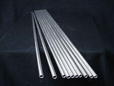 "*NEW*  Round Aluminum Tube Tubing - 3/8"" OD x .035"" x 23.75"" Long  (Qty - 10)"