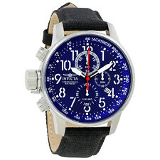 Invicta Lefty Force Chronograph Blue Dial Stainless Steel Mens Watch 1513