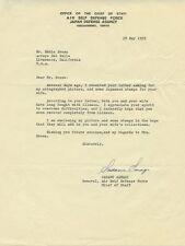 Japanese Naval Officer SADAMU SANAGI Signed Letter - 1959
