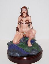 FRANK FRAZETTA PRINCESS STATUE BY CLAYBURN MOORE # 1059 / 1195 MINT LTD ED NEW