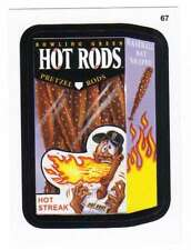 2016 Topps MLB Wacky Packages #67 Bowling Green Hot Rods Pretzel Rods