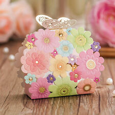 luxury spring flower and butterfly  Favour boxes x10