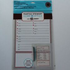 Martha Stewart w/Avey Dry Erase Decal Important Numbers 1 Decal