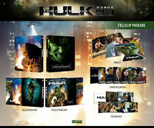 The Incredible Hulk (2016, Blu-ray) Full Slip Steelbook Limited (NOVA NE 09)