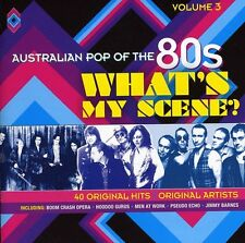 AUSTRALIAN POP OF THE 80s VOLUME 3 WHAT'S MY SCENE VARIOUS ARTISTS 2 CD NEW
