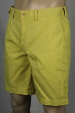 Polo Ralph Lauren Yellow Prospect Cotton Chino Shorts 30 NWT