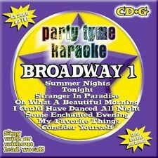 Party Tyme Karaoke - Broadway Vol. 1