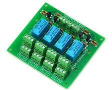 Four DPDT Signal Relay Module Board, 24V version.