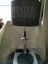 Game of thrones, Stark winter is coming   resin  Longclaw  desk  lamp