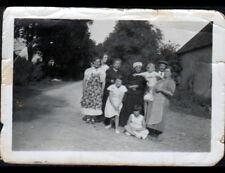 PARNAY / DUN-sur-AURON (18) Famille berrichonne vers 1920-1930 / Photo amateur
