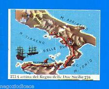 CENTENARIO UNITA D'ITALIA - Figurina-Sticker n. 275-276 - REGNO DUE SICILIE -Rec