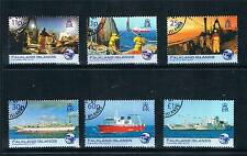 Falkland Is 2007 Fisheries Anniversary  SG1066/71 CTO