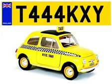 HACKNEY LONDON TAXY TAXI CAB DRIVER PRIVATE HIRE CAR REG PRIVATE NUMBER PLATE