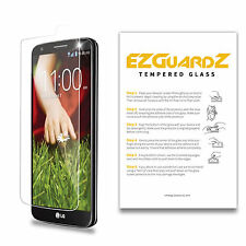 2X EZguardz Premium Tempered Glass Screen Protector For LG Optimus G2