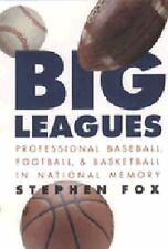 01 August, 1998, Big Leagues: Professional Baseball, Football, and Basketball in