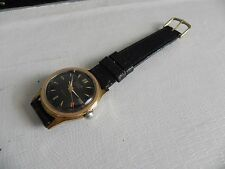 VINTAGE ALSTA 17 JEWELS ANTI MAGNETIC INCABLOC GOLD PLATED WATCH