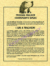 Rules In A Treeing Walker Coonhound's House
