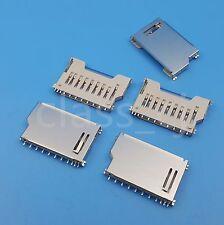 5Pcs SD Memory Card Socket Slot PCB Mount Solder Connector Short body