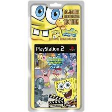 Play Station 2 Spiel PS2 SpongeBob Schwammkopf Film ab! mit Anleitung