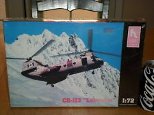 """CANADIAN & USA, CH-113 """"LABRADOR"""" HELICOPTER, Plastic Model Kit, Scale 1/72"""