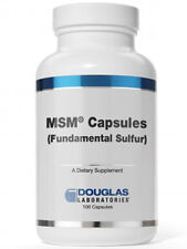 Douglas Labs, MSM Capsules Fundamental Sulfur 100 caps