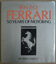 ENZO FERRARI 50 YEARS OF MOTORING BOOK BY CASUCCI