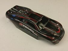 Traxxas 1/16 7107 VXL Brushless E-revo Red Black ProGraphix Body