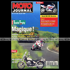MOTO JOURNAL N°1140 GUZZI 1100 CALIFORNIA 3 JOEY DUNLOP TOURIST TROPHY 1994