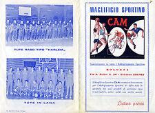 Maglificio Sportivo CAM_Brochure pubblicitaria Pallacanestro - Listino prezzi *
