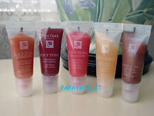 Lot 4 x Lancome Juicy Tubes Lip Gloss CORAL RUSH HALLUCINATION TOUCHED BY LIGHT