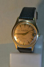 """Cristal Watch"" ~21J cal.AS 1506/07 Circa 1966's Date G/P Swiss Men's Wristwatch"