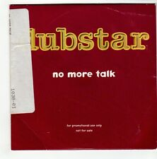 (GO494) Dubstar, No More Talk - 1997 DJ CD