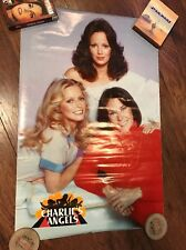 Charlie's Angels Cheryl Ladd Kate Jackson Jaclyn Smith Poster Western Graphics