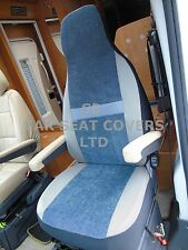 TO FIT A MERCEDES SPRINTER MOTORHOME 2016, SEAT COVERS, MH-179 BESSIE BLUISH GRY