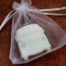 100 x Wedding Favours - VW Camper / Campervan Soaps - White with Lavender Scent